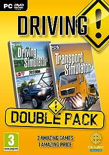 Driving Double Pack - Transport Simulator Plus Driving 2013 (PC DVD) (UK)
