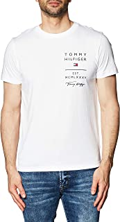 Tommy Hilfiger Logo List tee Camisa para Hombre