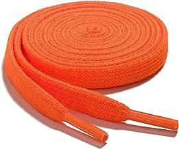 neon orange shoelaces