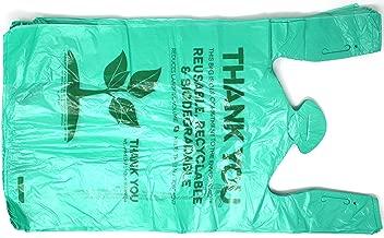 Biodegradable Plastic T-Shirt Thank You Bags - 500/Case - Save Money Buy Bulk