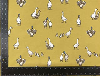 Caballos Salvajes Stallions Beis Aspecto de Lino Alta Calidad Fabric Material Vendido por la Medio Metro