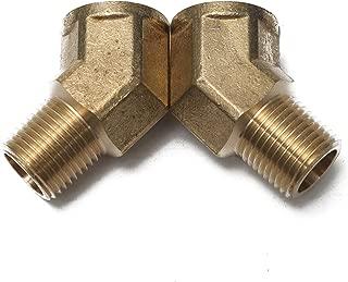 LTWFITTING Brass Pipe 45 Deg 1/2