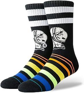 Stance Moon Man Crew Socks in Black