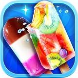 Frozen Rainbow Ice Pops & Ice Cream Cooking Games