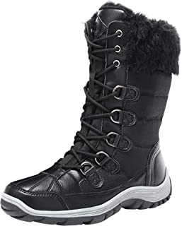 Snow Boots for Women Waterproof Insulated Winter Fur...