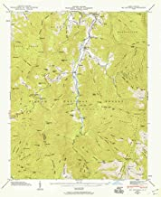 YellowMaps Mt Mitchell NC topo map, 1:24000 Scale, 7.5 X 7.5 Minute, Historical, 1946, Updated 1959, 26.8 x 21.8 in