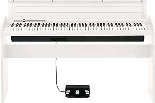 $603 Get Korg 88 Key Lifestyle Piano White (LP180WH)