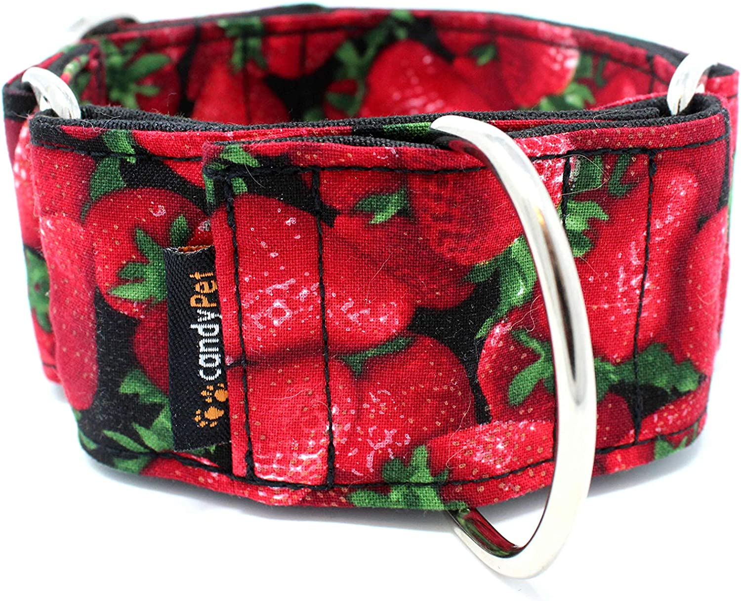 candyPet Milwaukee Mall Martingale Dog Collar Mail order - Strawberries Model