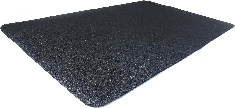 "Diversitech Outdoor Gas Grill BBQ Floor Mat 48"" x 30"" - Absorbant Protection for Decks & Patios, Black : Patio, Lawn & Garden"