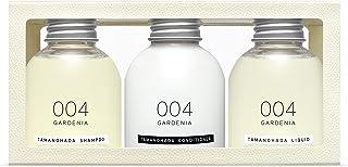 TAMANOHADA 004 栀子香 洗发水 护发素 沐浴液 洗护沐套装