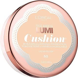 L'Oréal Paris True Match Lumi Cushion Foundation, N1 Soft Ivory, 0.51 oz.