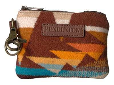 Pendleton ID Pouch Key Ring (Crescent Butte) Wallet Handbags