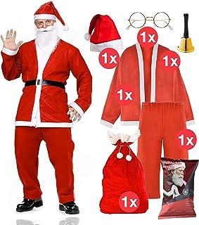 Santa Schuhüberzüge Outfit Kostüm Boot Toppers Erwachsene Claus Weihnachten