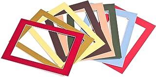 Passepartout-Online Passe-Partout 41 Couleurs 9x13-70x100 cm Le Noyau Blanc Mount Board - 40x60cm Inside for: 30x45cm - 0...