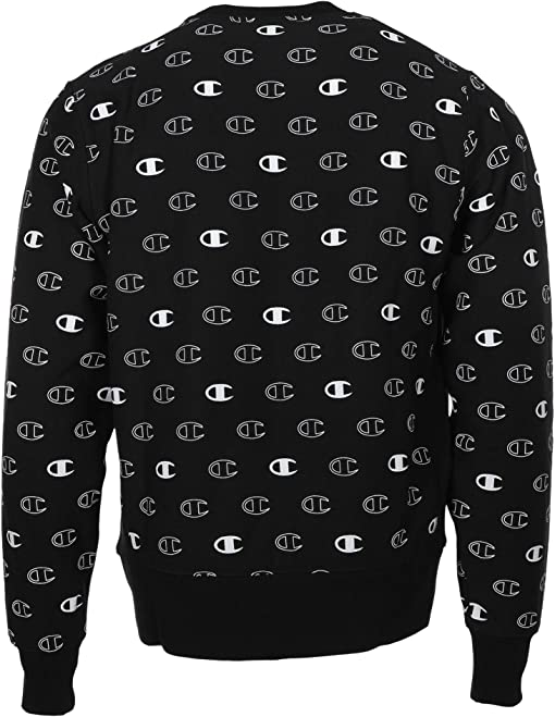 C Logo Spaced Black