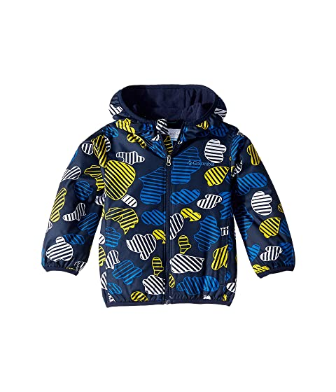 e0755577c Columbia Kids Mini Pixel Grabber™ II Wind Jacket (Infant/Toddler) at ...
