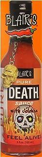 Blair's Pure Death with Jolokia Hot Sauce, 5 Ounce