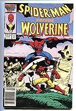 Spider-Man versus Wolverine #1 comic book 1987 Marvel Cross-over FN