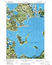 YellowMaps Cass Lake MN topo map, 1:24000 Scale, 7.5 X 7.5 Minute, Historical, 1972, Updated 1974, 27.23 x 21.53 in