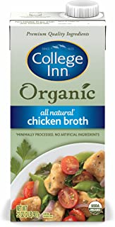 College Inn Organic All Natural Chicken Broth in Aseptic Carton, 32-Ounce