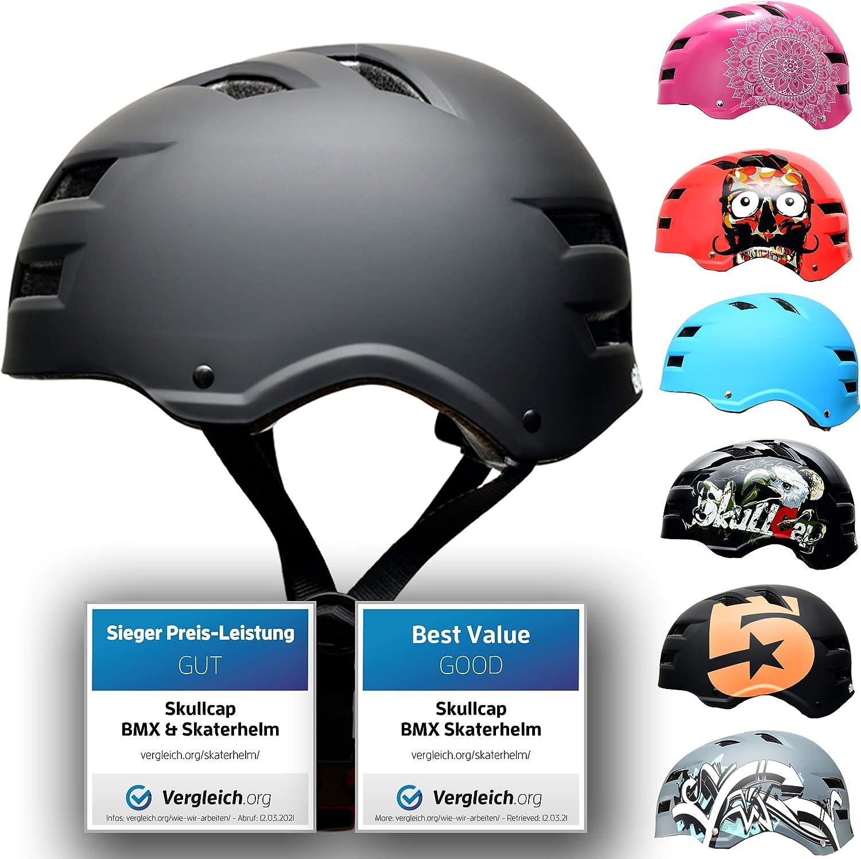 Skull-C Lowest price challenge Skateboard BMX Bike Helmet from Adults for 6-99 Kids Oakland Mall