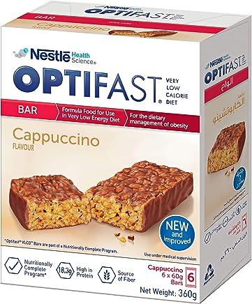 OPTIFAST Very Low Calorie Diet Bar Cappucino Flavor, 360g
