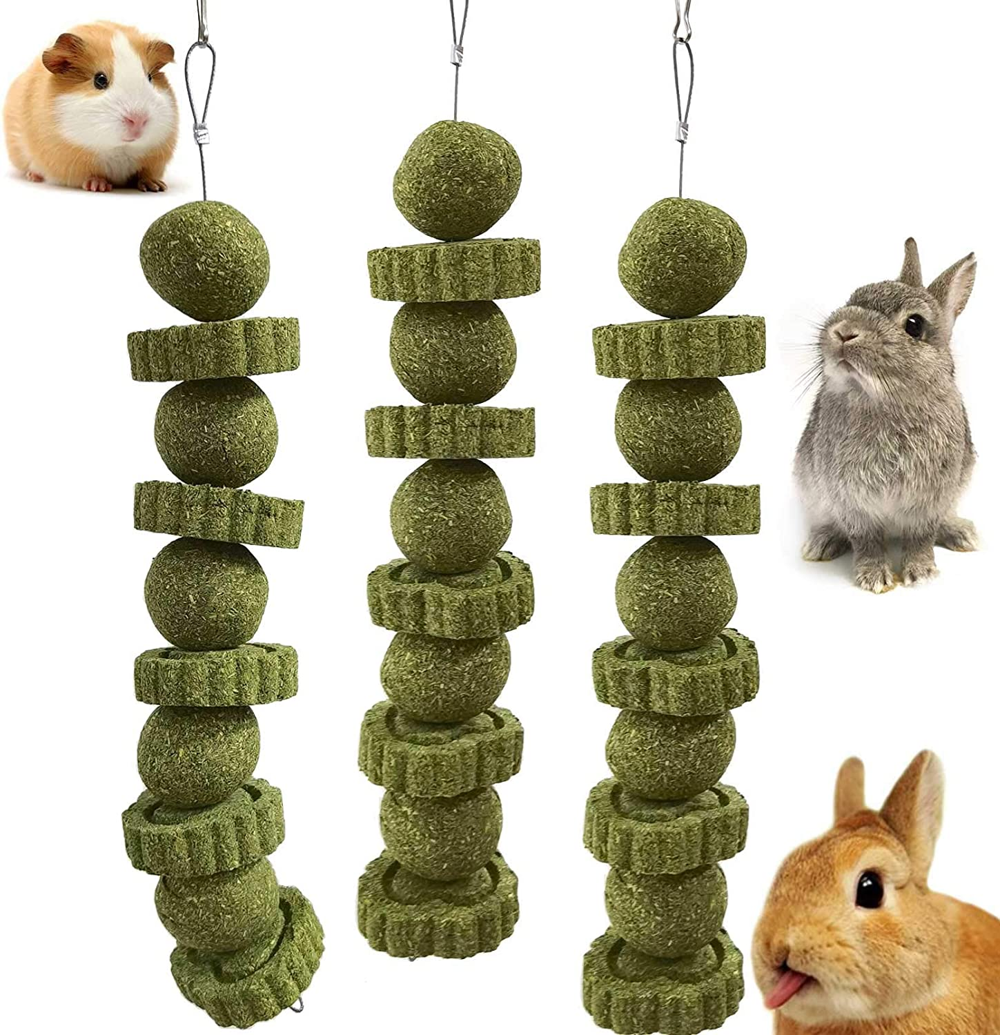 kathson Bunny Ranking TOP6 Chew Sale Special Price Toys Rabbit Chewing Grinding Toy for Ch Teeth