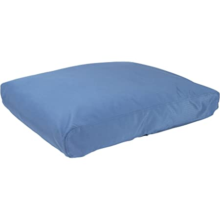 """K9 Ballistics Tough Rectangle Nesting XXL Extra Large Dog Bed - Washable, Durable and Waterproof Dog Bed - Made for Big Dogs, 40""""x68"""", Blue"""