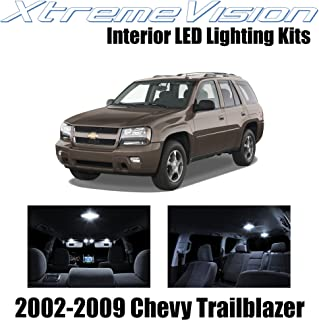 XtremeVision Interior LED for Chevy Trailblazer 2002-2009 (16 Pieces) Pure White Interior LED Kit + Installation Tool