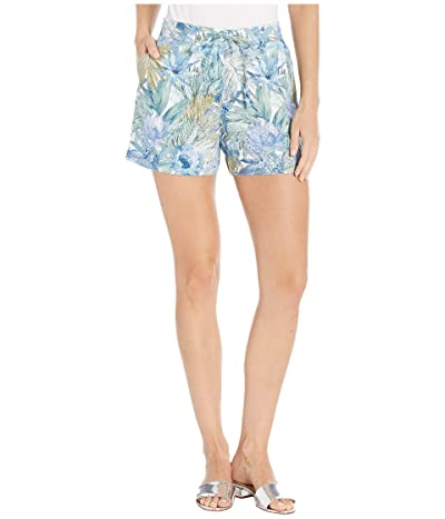 Tommy Bahama Marias Floral Shorts (Blue Yonder) Women