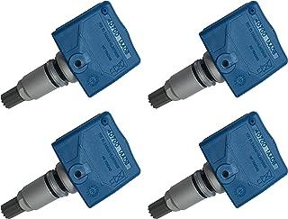 OCPTY Motorcraft Programmed Tire Pressure Sensor TPMS for Selsct Infiniti Models 4Pcs 433 MHz 40700-3JA0B