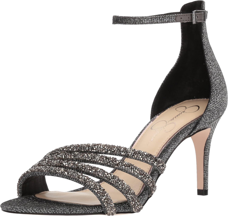 Jessica Simpson Womens Paveny Heeled Sandal