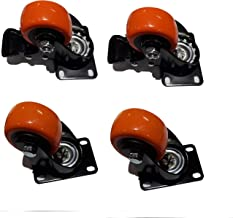 Archimax Wheel Casters With Brake set of 4 Wheels (50 mm)