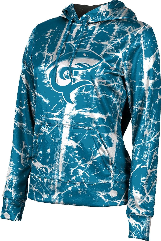ProSphere Hawaii Pacific University Girls' Pullover Hoodie, School Spirit Sweatshirt (Distressed)