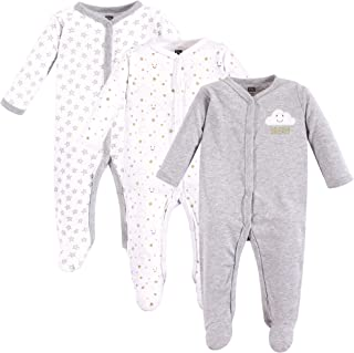 Hudson Baby Baby Cotton Union Suit, 2 Pack, Woodland Creatures
