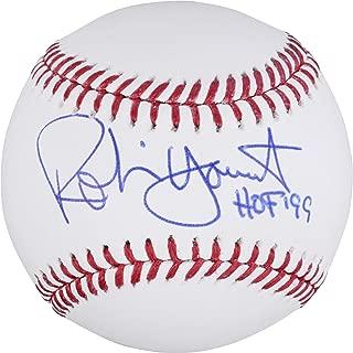 robin yount autographed baseball