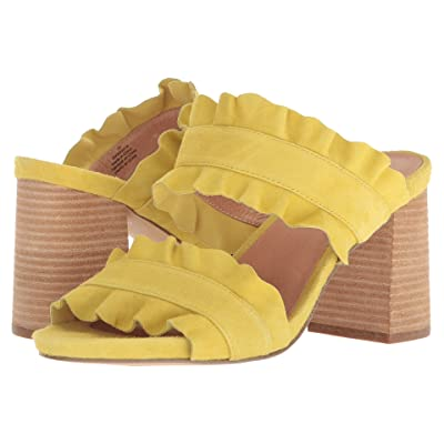 Free People Rosie Ruffle Heel (Yellow) Women