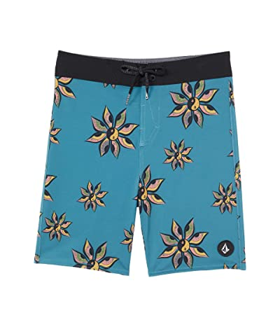 Volcom Kids Burch Mod Trunks (Big Kids) (Hydro Blue) Boy