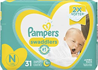 Pampers Pampers Swaddlers Newborn Diapers Size N, 31 Count