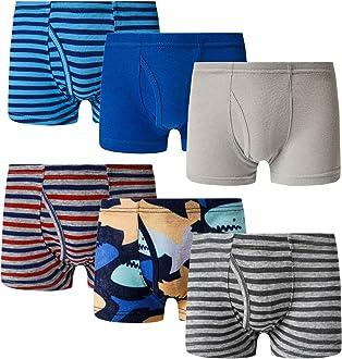 Family Feeling Little Boys Cotton Boxer Brief Soft Underwear