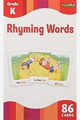 Rhyming Words (Flash Kids Flash Cards) Cards
