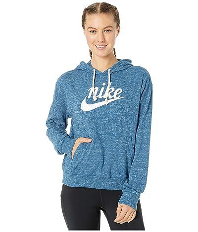 Nike NSW Gym Vintage Hoodie HBR (Valerian Blue/Sail) Women