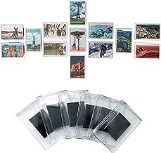 Set da 20 Cornici Foto Magnetiche per Frigo da Kurtzy - Magneti Frigo in Acrilico Trasparente con Inserto Foto Dimensioni 7 x4.5cm - Cornice Magnetica Perfetta per Foto di Famiglia