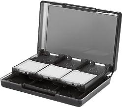 AmazonBasics Nintendo 3DS Game Card Storage Case Holder with 24 Cartridge Slots - 3 x 5 x 1 Inches, Black
