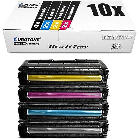 10x Eurotone Toner Für Ricoh Aficio Sp C 220 221 222 240 A Sf S Dn N Ersetzt Typespc220e Ct220 Bürobedarf Schreibwaren