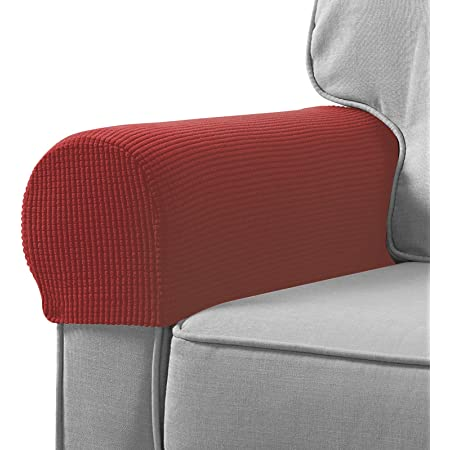 Removable Stretch Sofa Arm Rest Slipcover Protector Armchair Couch Arm Cover ONE