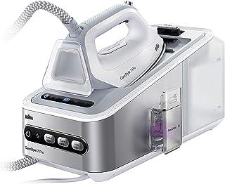 comprar comparacion Braun Carestyle 7 IS7155WH - Centro de Planchado (2400W. 125g/min, golpe de vapor 500g/min, suela bidireccional Eloxal 3D ...