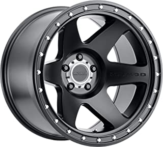 Method Race Wheels MR610 Con 6 BLACK Wheel with Matte Street Loc (0 x 12. inches /5 x 127 mm, -52 mm Offset)