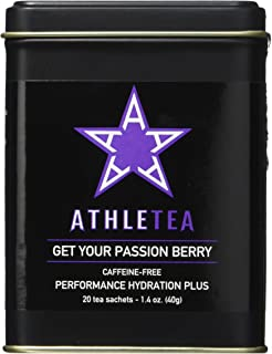 Harney & Sons ATHLETEA Get Your Passion Berry CAFFEINE-FREE Performance Hydration Tea