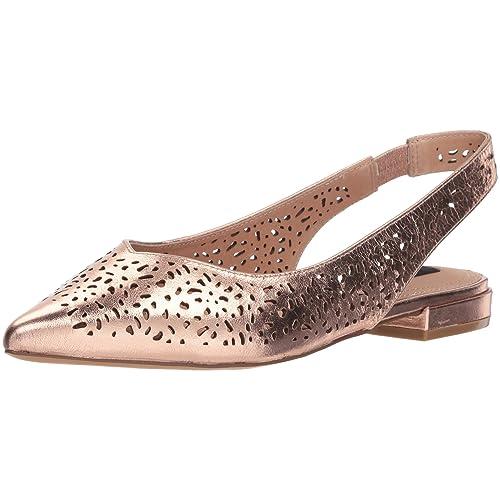 81f385335f0 Pointed Toe Slingback Flats Shoes: Amazon.com